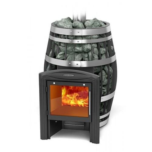 Дровяная печь для бани Термофор  Саяны XXL 2015 Vitra Carbon, Inox Витра