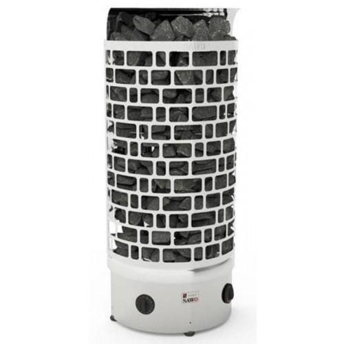 Печь для бани SAWO Aries Пристенная 4,5 кВт встроенный блок для бани и сауны