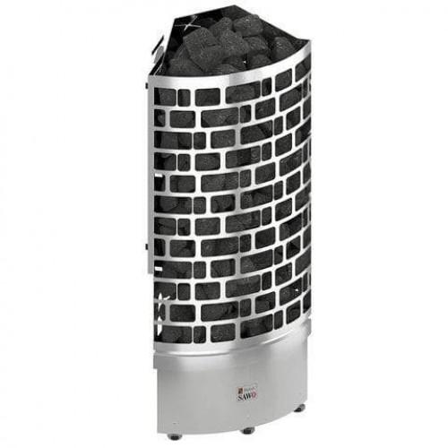 Печь для бани SAWO Aries Угловая 4,5 кВт выносной блок для бани и сауны