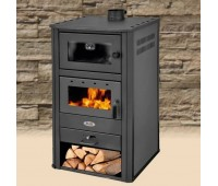 Печь-камин Blist BRM E с теплообменником и духовкой