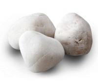 Камень для бани Белый кварц